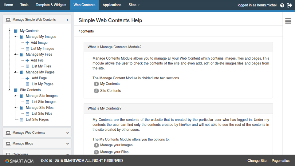pagematics-manage-simple-web-content