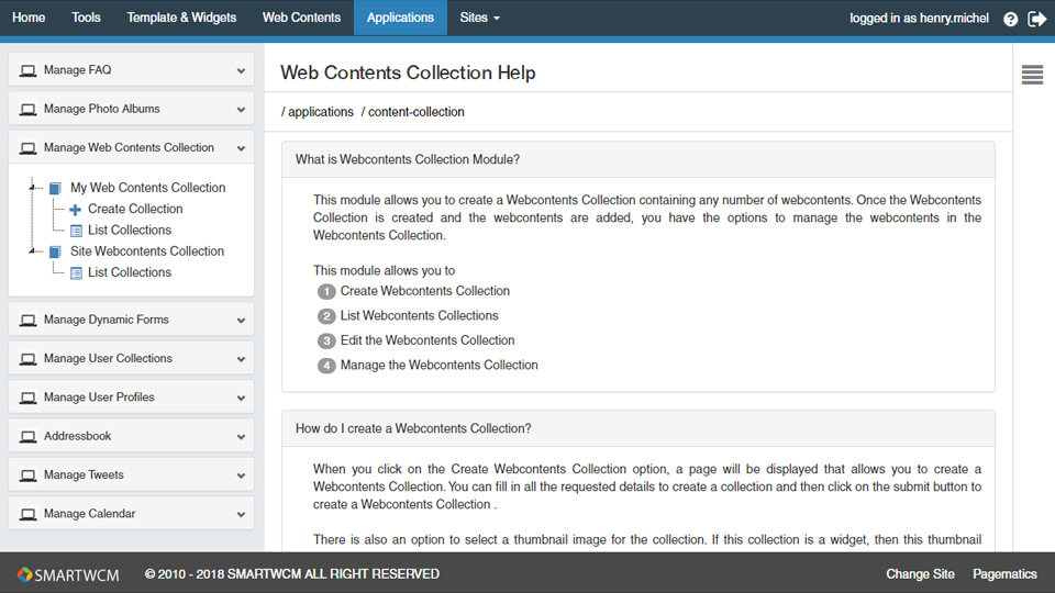 pagematics-manage-web-content-collection